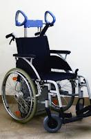 Schodołaz kroczący Scalamobil w komplecie z wózkiem inwalidzkim