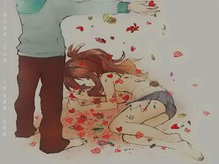 صور كرتون رومانسية للشباب والبنات