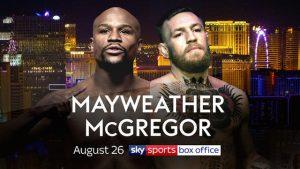 Mayweather vs McGregor final