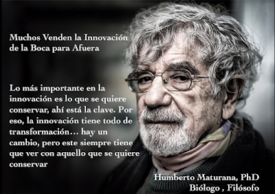 #Innovación en serio: ¿aislada o relacional? – relato desde #Maturana