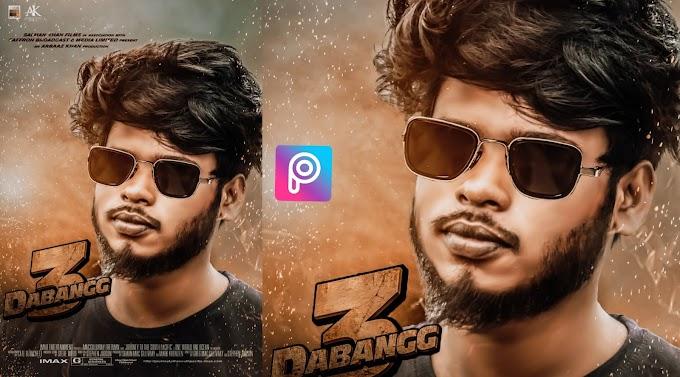 Dabangg 3 Movie Poster PicsArt Editing Background & PNG Download