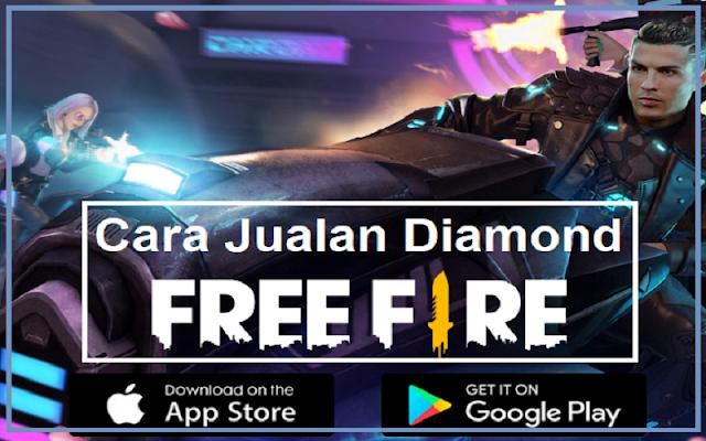 jualan diamond free fire di sosmed
