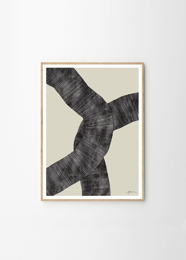 Studio Paradissi x The Poster Club. Abstract 697 Art Print