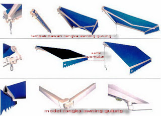 awning gulung manual