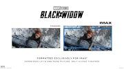 Black Widow (2021) - IMAX Poster : 約22分間の迫力の IMAX 映像を楽しめる劇場体験をアピールしたいディズニーが、マーベル最新作「ブラック・ウィドウ」のナターシャを描いたアーティスティックな IMAX 版ポスターをリリース ! !