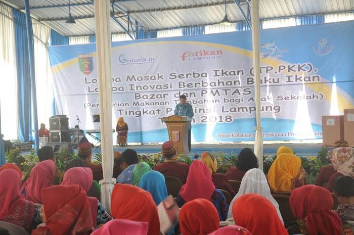 Tingkatkan Konsumsi Ikan di Masyarakat, Pemprov Dorong Inovasi Menu