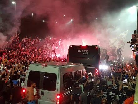 Recepção Corinthians Itaquera