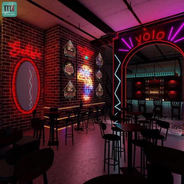 Thiết kế thi công cơ sở kinh doanh đẹp tại Kiên Giang