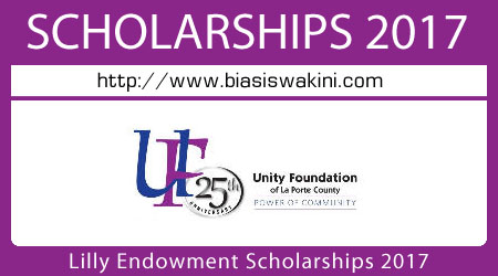 Lilly Endowment Scholarship 2017