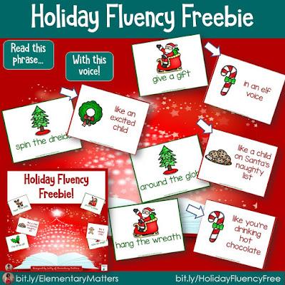 https://www.teacherspayteachers.com/Product/Holiday-Fluency-Freebie-378519