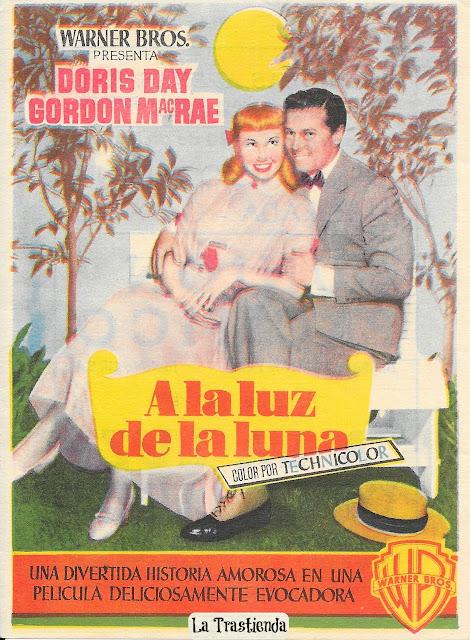Programa de Cine - A la Luz de la Luna - Doris Day - Gordon MacRae