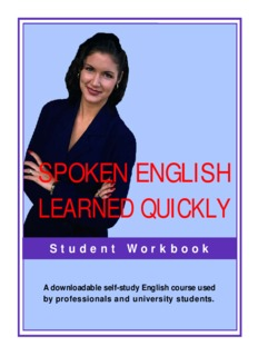 Spoken English Learned Quickly By Lynn Lundquist