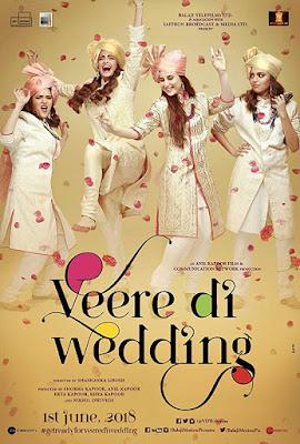 Veere Di Wedding (2018) Hindi 480p WEB-HDRip – 400MB
