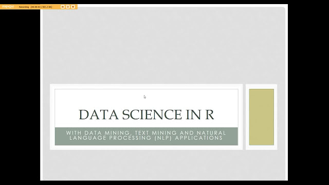 Data Science:Data Mining & Natural Language Processing in R