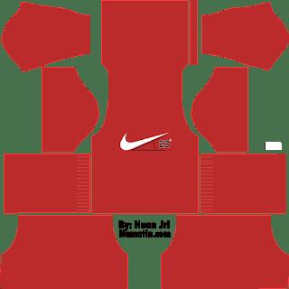 Skin DLS Nike Merah