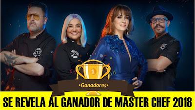 Regina la ganadora de Master Chef México