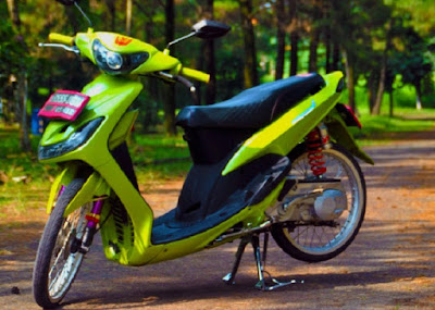 terbaru photo modifikasi motor mio sporty