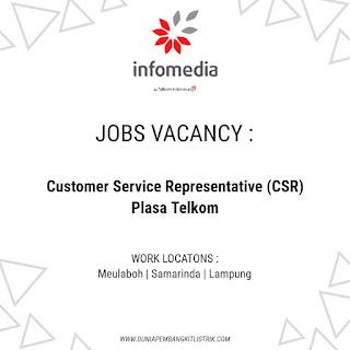 PT. Infomedia Nusantara (Infomedia) Jobs: Customer Service Representative (CSR) Plasa Telkom