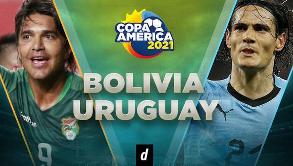 Uruguay vs. Bolivia EN VIVO: transmisión de hoy por la Copa América 2021