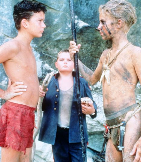 irony in lord of the flies ending relationship