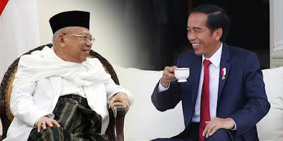 Prediksi Perolehan Suara Pasangan Calon Presiden dan Wakil Presiden Jokowi Ma'ruf Amin