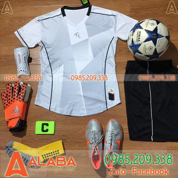Áo bóng đá không logo vải Thái Lan xịn