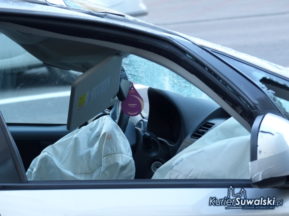 dachowanie samochodu na kościuszki w suwałkach