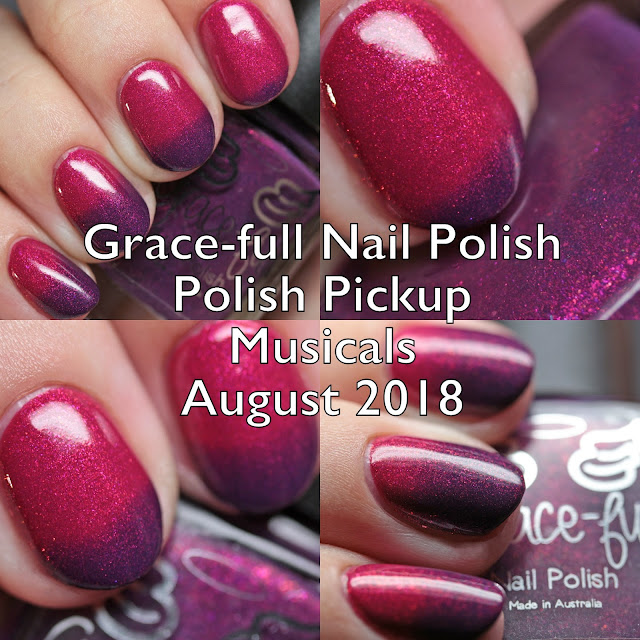 Grace-full Nail Polish Polish Pickup Musicals August 2018