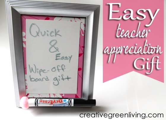 DIY Dry Erase To-Do List from Creative Green Living