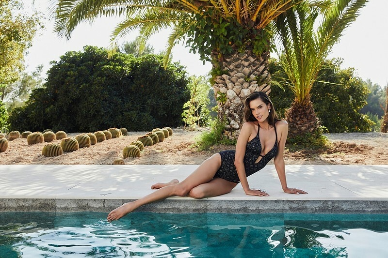 Alessandra Ambrosio for Lascana Swim 2019 Campaign