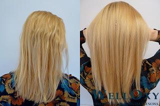 trychologiczny zabieg na włosy