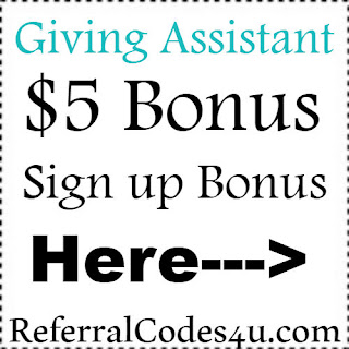 GivingAssistant.com Sign Up Bonus 2018, Makeena Referral Code 2019, Makeena Promo Code 2018-2019