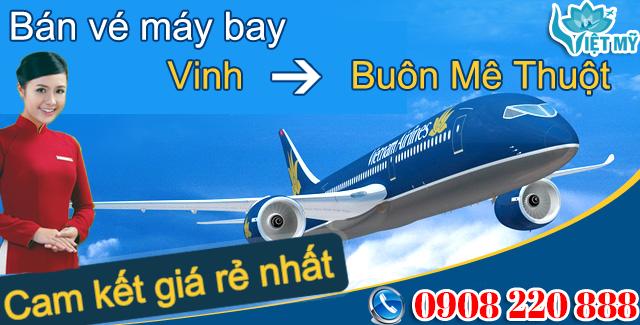 Vé máy bay Vinh đi Buôn Ma Thuột