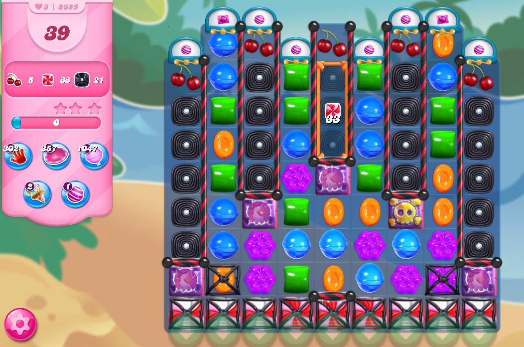 Candy Crush Saga level 8685