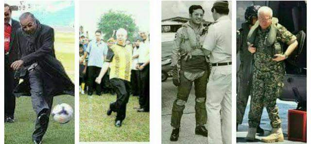 Image result for Gambar Pahlawan Mahathir dan Najib