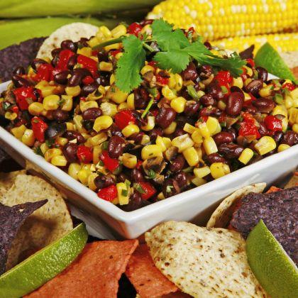 Grilled Turkey with Black Bean Salsa Recipe