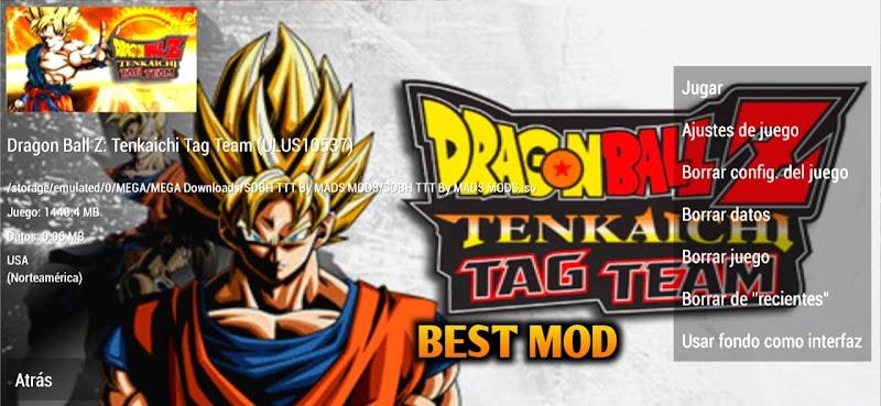 Super Dragon Ball Heroes Budokai Tenkaichi Mod PPSSPP ISO Download