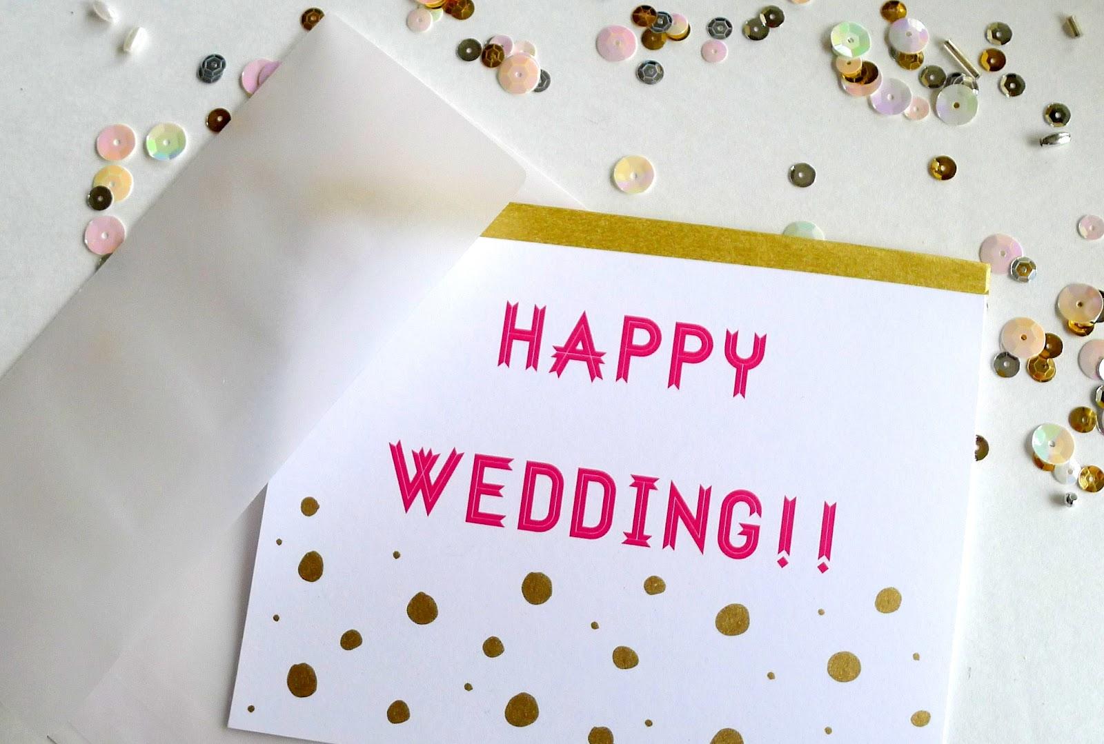 Bunny's Little Corner: Happy Wedding