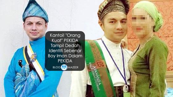 """Kantoi! """"Orang Kuat"""" PEKIDA Tampil Dedah Identiti Sebenar Boy Iman Dalam PEKIDA"""