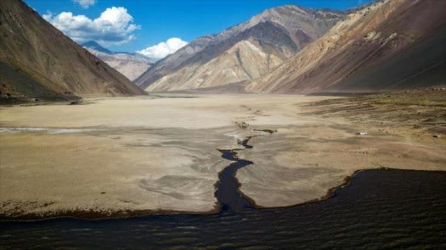 Chile sufre sequía histórica en medio de pandemia de COVID-19