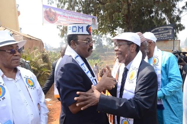 CPDM Scribe Celebrates Mbayu Felix