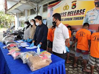 Tiga Pemuda di Lombok Tengah Diamanakan Polisi Karena Kasus Asusila