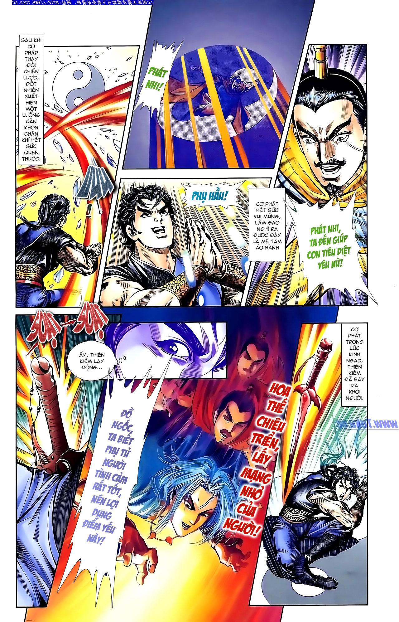 Cơ Phát Khai Chu Bản chapter 143 trang 21