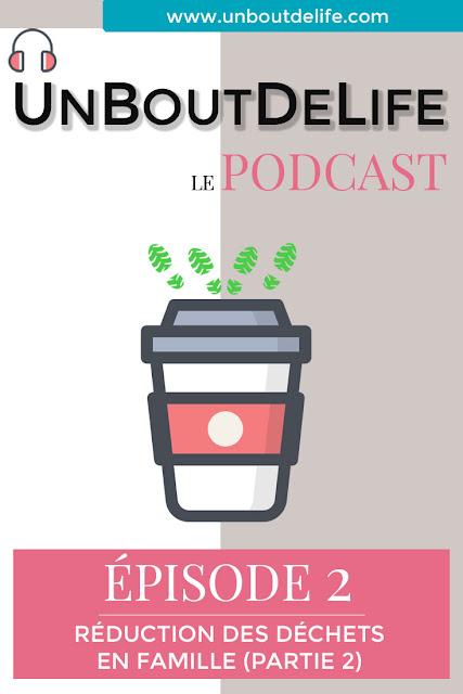 Podcast réduction des déchets en famille dans la cuisine ubdl
