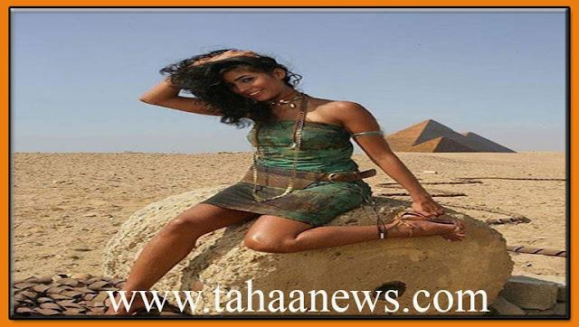 صور روبى عند اهرامات الجيزة الجمال الفرعونى يكسب
