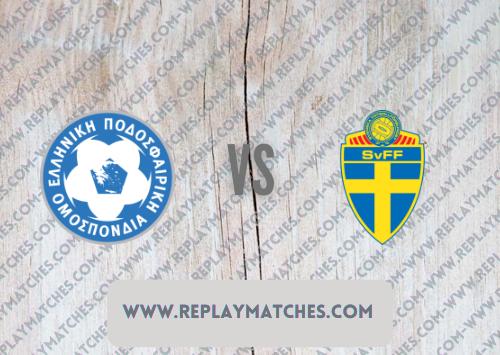 Greece vs Sweden -Highlights 08 September 2021