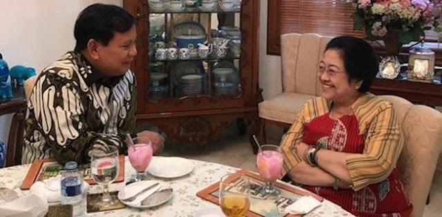 Kepada Jokowi Dan Mega, Prabowo Bilang Ingin Berkontribusi Di Posisi Manapun