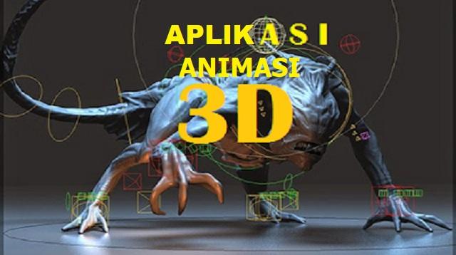 Aplikasi Animasi 3D