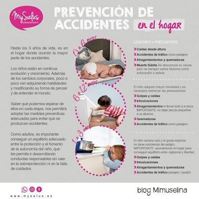 mysalus blog mimuselina prevenir accidentes de bebés en casa hogar prevención accidente niño