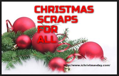 Merry Christmas Scraps